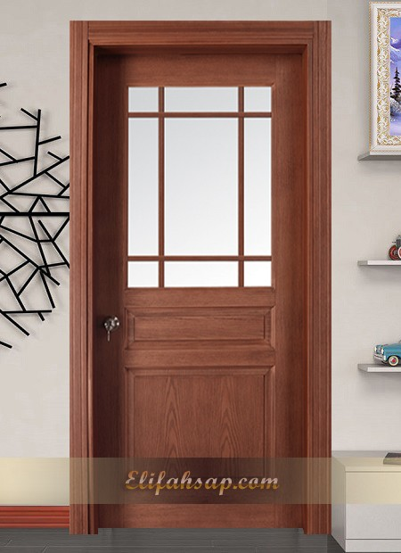 Perge Kapı Dekoratif Camlı 3